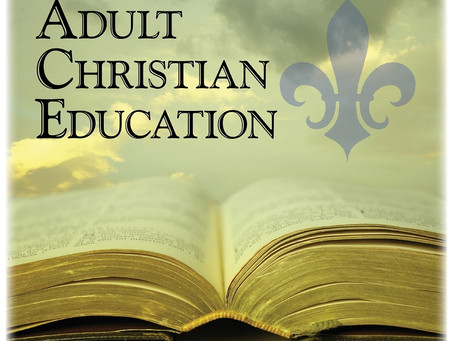 Adult Christian Education Spring 2021