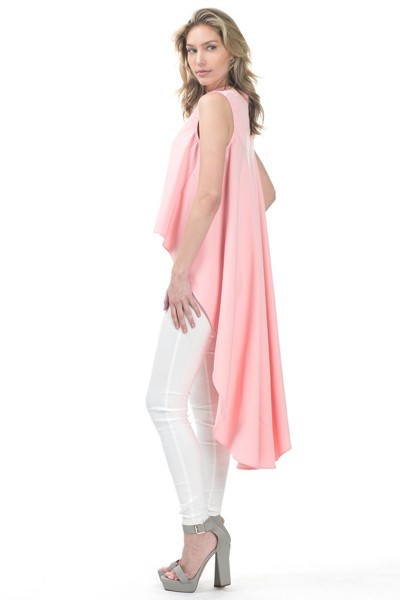 Blush Hi Lo Blouse | Boutiques in Kennesaw, Red Boutique