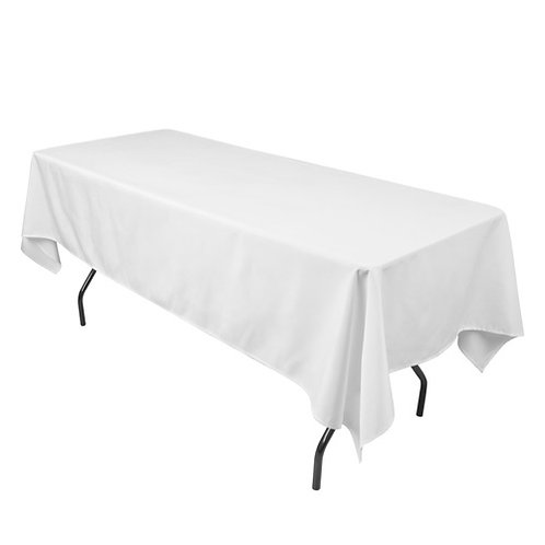 Rectangle Table Cloth(s) [White]