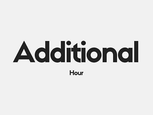 Additional Hour - Extended Time (Montclair)
