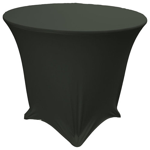 Round Table Cloth(s) [Black]