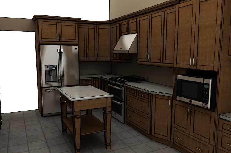 Kitchen 1 - Design