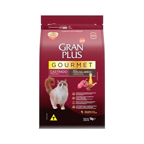 Ração Gourmet Gato Castrado Ovelha & Arroz