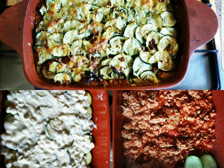 Courgette Lasagne Competition