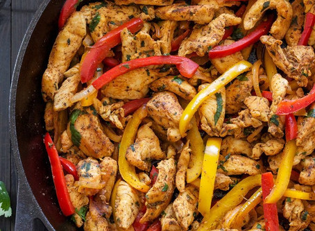 Chicken Fajitas (Sans the Tortilla)