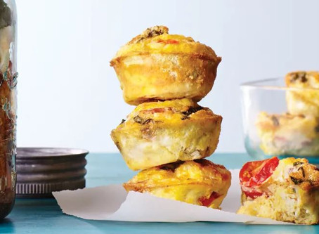 Mini Breakfast Fritatas