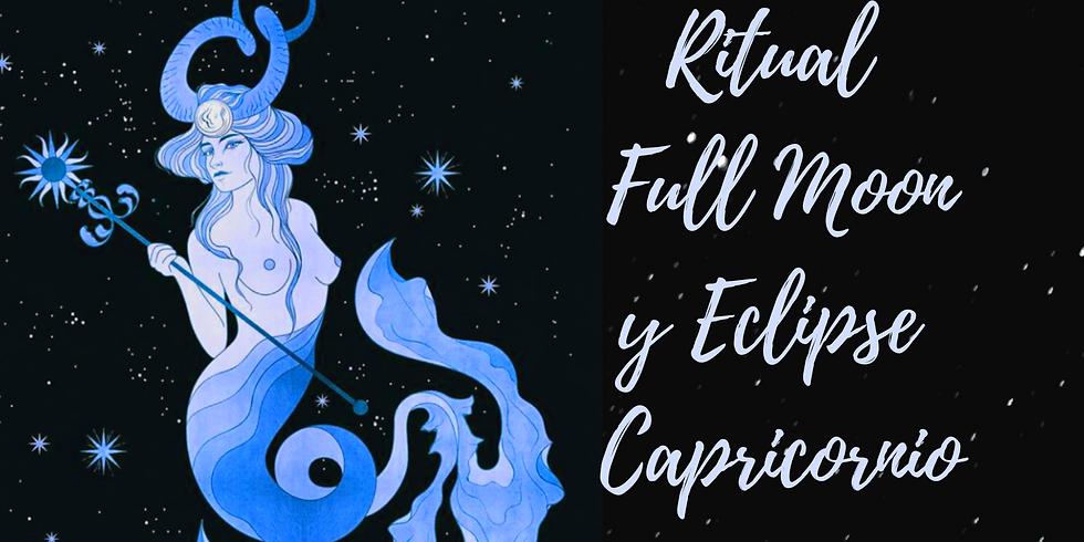 Ritual Luna Llena en Capricornio y Eclipse