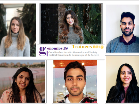 Genomics4S Welcomes First Trainees