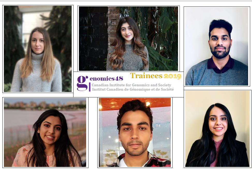 From top left: Hannah Horvath, Barkhaa Talat, Anand Rai. From bottom left: Oushna Rab, Aaron Hayat, Nikkita Mistry