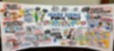 """Graphic recording of Dr. Kalina Kamenova's presentation """"Health Science, Public Trust and Celebrity Culture"""" at the Ontario Library Association (OLA) 2016 Super Conference"""