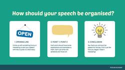 Building speech structure