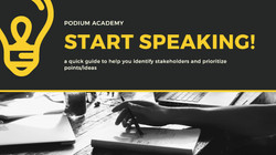 Guide to identifying stakeholders & prioritizing ideas