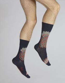 chaussettes corail des mers chaudes