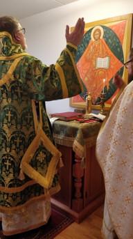 Hiippakuntakappelin temppelijuhla, tammikuu 2019