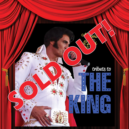 SOLD OUT! TRIBUTE TO 'THE KING' – Saturday 15th December