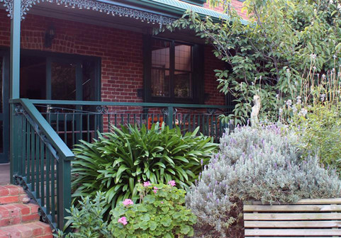 Long verandah out back