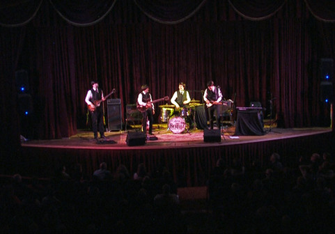 The Beatlez on theatre stage