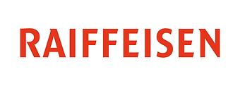 Raiffeisen-Logo rot mit weissem Hintergr