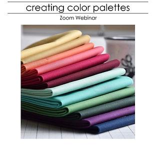 Creating Color Palettes Presentation bla