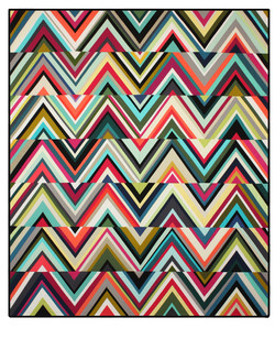 Triangles Quilt 2013