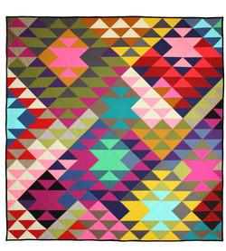Modern Prism Quilt-2015