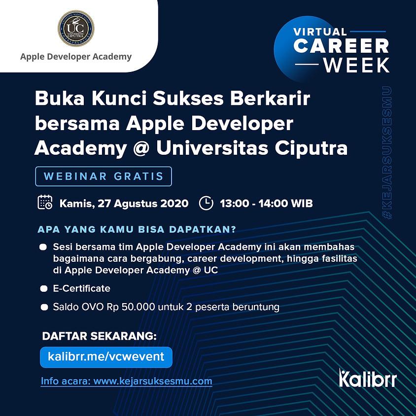 Buka Kunci Sukses Berkarir bersama Apple Developer Academy @ Universitas Ciputra