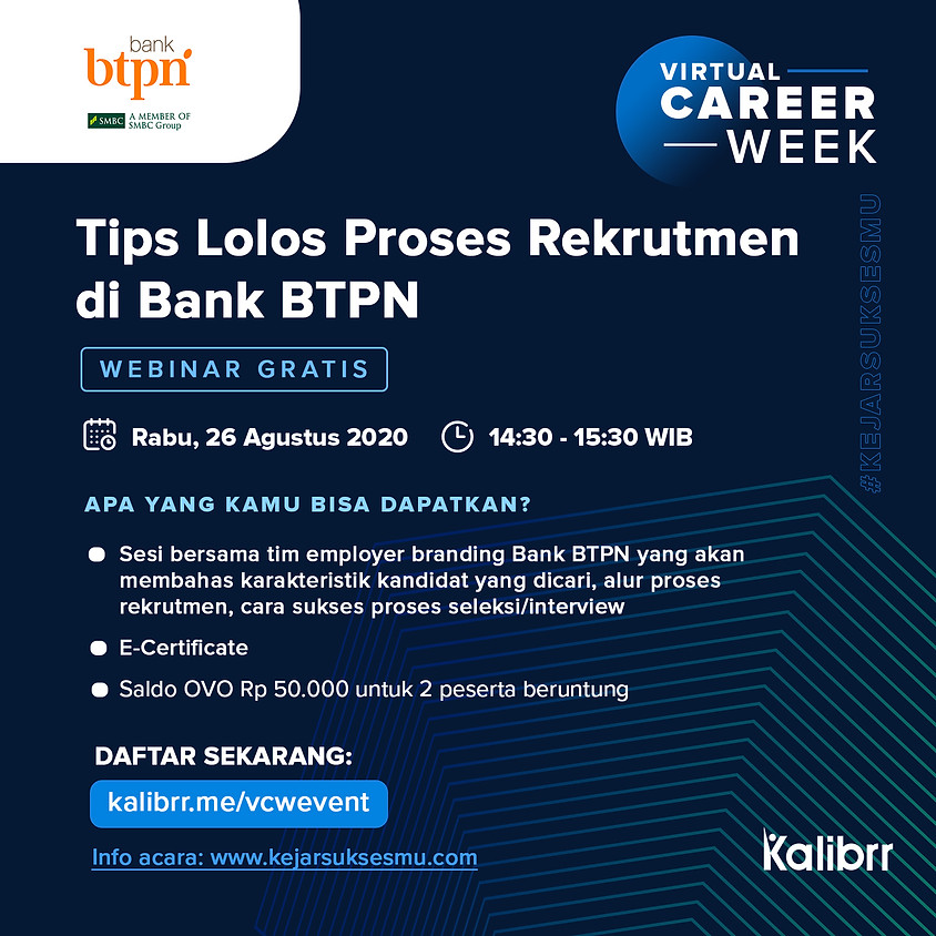 Tips Lolos Proses Rekrutmen di Bank BTPN