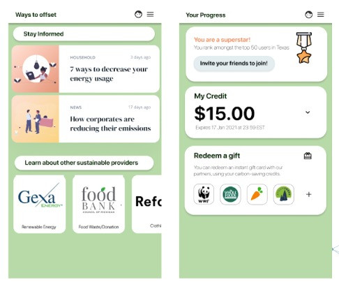 Personal Carbon Tracker, a CleanTech Project