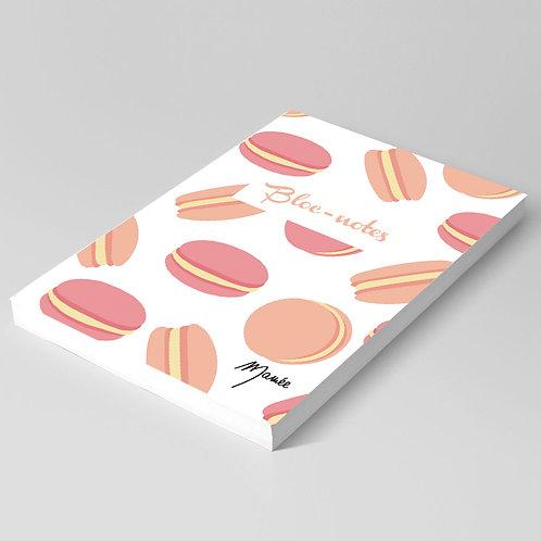 Bloc-notes macarons