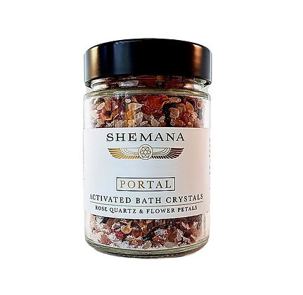 Shemana Rose Quartz Activated Bath Crystals