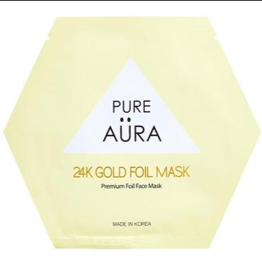 Pure Aura 24K Gold Sheet Mask