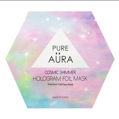 Pure Aura Cosmic Shimmer Sheet Mask