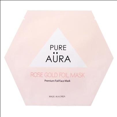 Pure Aura Rose Gold Sheet Mask