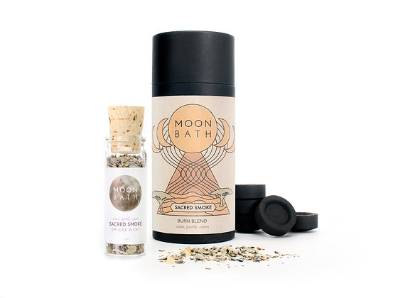 MOON BATH |  Sacred Smoke