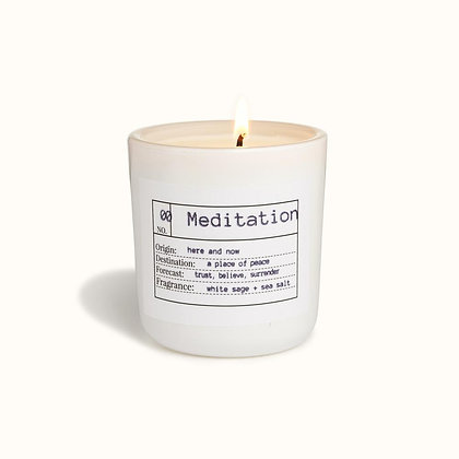 FLORES LANE | Meditation Candle