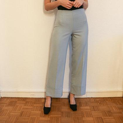 pantalon droit bleu clair [S]