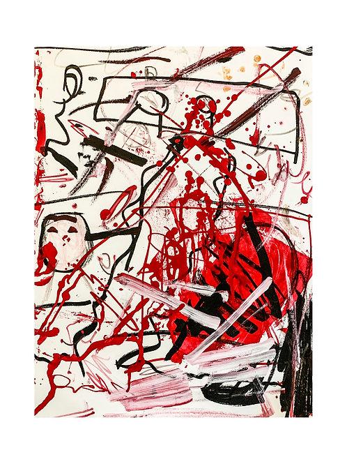 "Print: ""Red Soul"""
