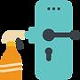 5728178 - cleaning door hygiene knob obj