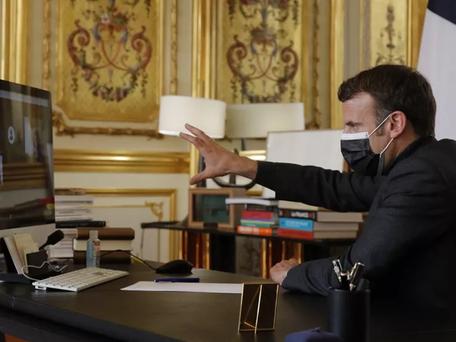 Pour Emmanuel Macron il est essentiel que les classes rouvrent le 26 avril