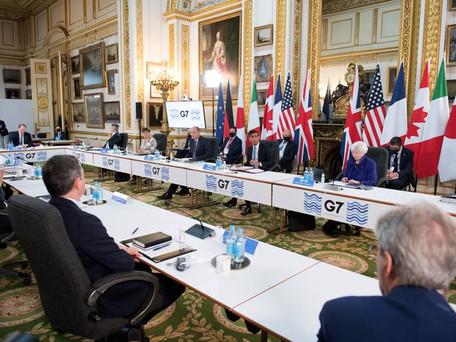 Multinationales: le G7 vote un accord historique pour une taxe minimum de 15% sur les sociétés