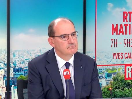 """Pass sanitaire : pas en entreprise pour le moment annonce Jean Castex, il n'est """"pas d'actualité"""""""