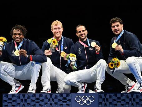 JO de Tokyo : qui sont E. LEFORT, E. LE PECHOUX, J. MERTINE et M. PAUTY, champions olympiques ?
