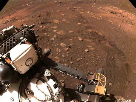 La NASA a dévoilé 16 minutes de son du rover perseverance qui roule sur Mars