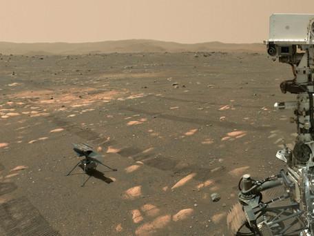 Mars : la NASA doit retarder le vol de son hélicoptère Ingenuity à cause d'un problème technique