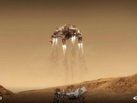 """Mission """"Mars 2020"""" : 7 mois de voyage vers la planète à 77000 Km/h et 7 minutes de terreur ce soir"""