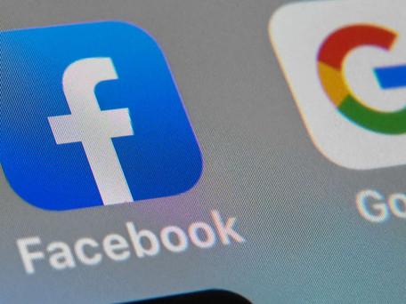 Les entreprises Facebook et Google n'accepteront plus que des employés vaccinés dans leurs locaux