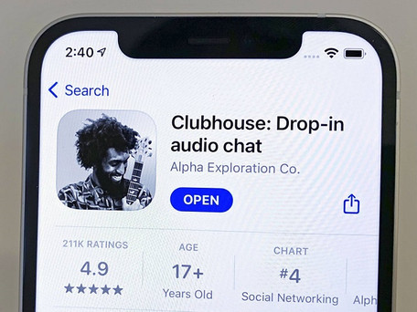 ClubHouse : conversations en direct, accès par parrainage l'application venue de la Silicon Valley