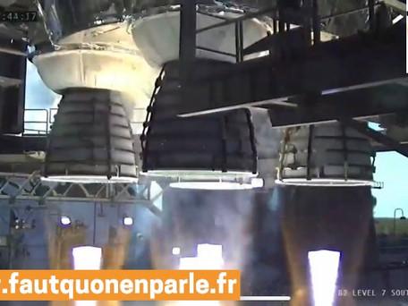 NASA : le test critique de son plus gros lanceur se solde par un échec