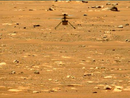 Mars : les premiers sons enregistrés pendant le vol d'Ingenuity sur la planète