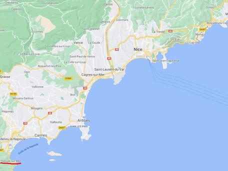 Le département des Alpes-Maritimes placé en confinement pour les deux prochains week-ends minimum